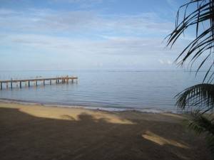 Beach at Blue Bahia Resort, Roatan, HN