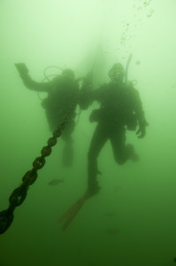 Freshwater scuba diving opportunities