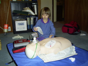 CPR and First Aid training is something even children can learn